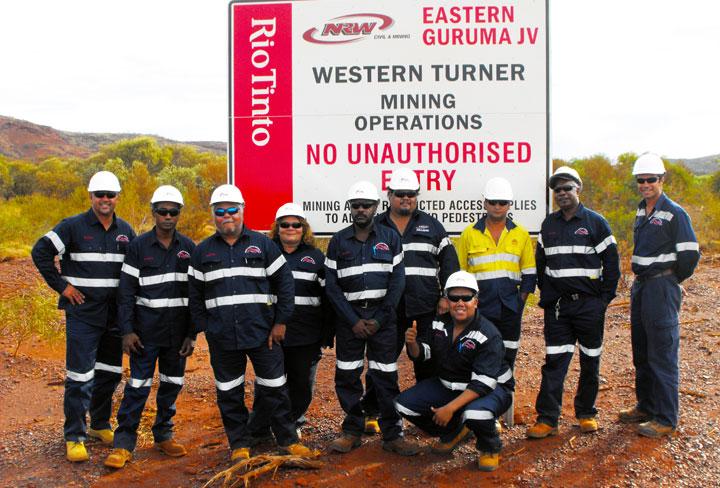 Western Turner - Eastern Guruma Team